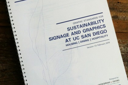 UCSD LEED Signage Manual